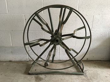 1940s Wire Spool Wheel Reel by General Machine Industrial 183570 #Uvpe1MHunGk