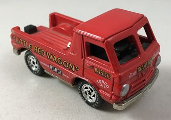1965 Dodge Pickup 153 Little Red Wagon the Original Wheel Stander Mavericks Torco Oil #vPVaWn5Pnzw