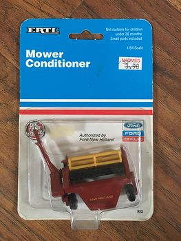 1991 Ertl New Holland Mower Conditioner with Haybine 489 #QucosLY8Av0