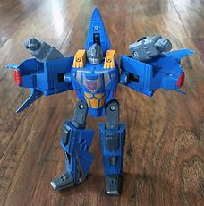 2006 Transformers Decepticon Thundercracker That Turns into Cybertronian Spaceship #IVr2Ukp94Ls