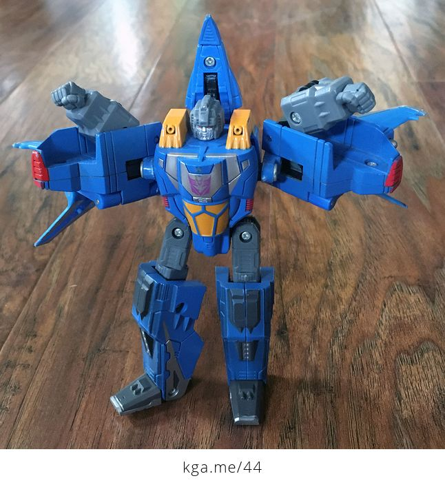 2006 Transformers Decepticon Thundercracker That Turns into Cybertronian Spaceship - #IVr2Ukp94Ls-1