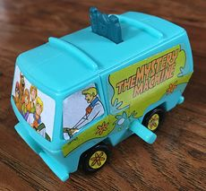 2015 Scooby Doo Mystery Machine Van Windup Toy Burger King Hanna Barber #qoL27IHPYZc