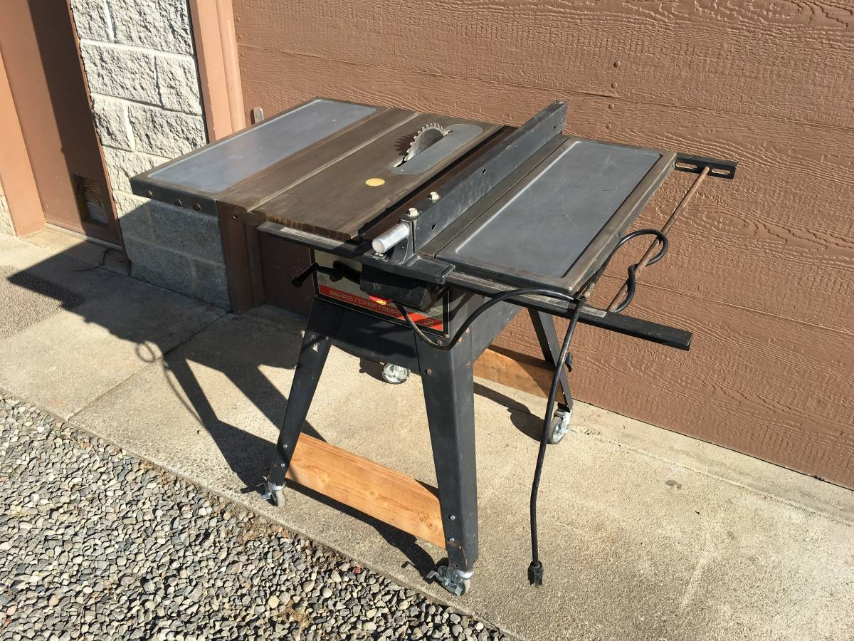 Heavy Duty Craftsman Table Saw 10in