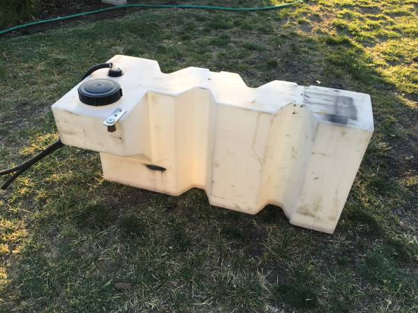 Heavy Duty Utility Holding Tank - 50 Gallons
