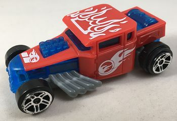 Hot Wheels Bone Shaker Mcdonalds Pull Back Car Toy #L8iTXrThiOY