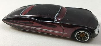 Hot Wheels Metalflake Burgundy Ford Gangster Grin with Purple Flames M3305 #yU0OVMFfRqg
