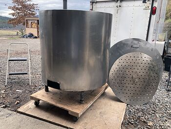 Large Stainless Steel Natural Gas Kettle Pot #l4Gy5MvXwl8