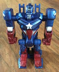 Marvel the Avengers Flip and Attack Captain America Ultra 4x4 Transformers #tkJPkWBO21U