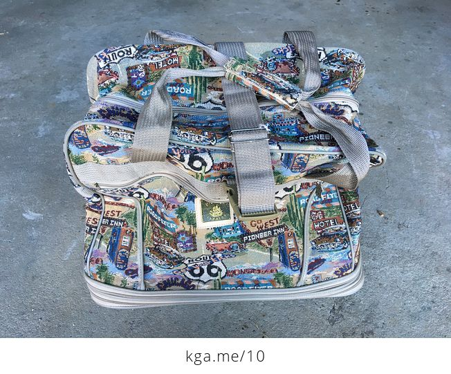 Route 66 Travel Bag - #Q9VLLsEucWc-1