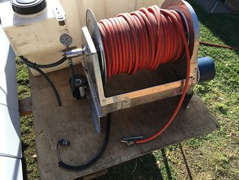 Stainless Steel Electric Hose Reel with 300ft Hose #eoS6LOt1DWE